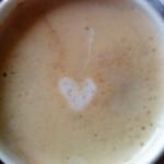 Kaffee: hier in der Tasse - gleich im Komost.