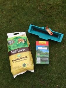 Biodünger und Schattenrasen