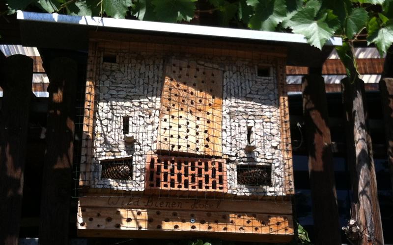 Insektenhotel, insbesondere für Wildbienen