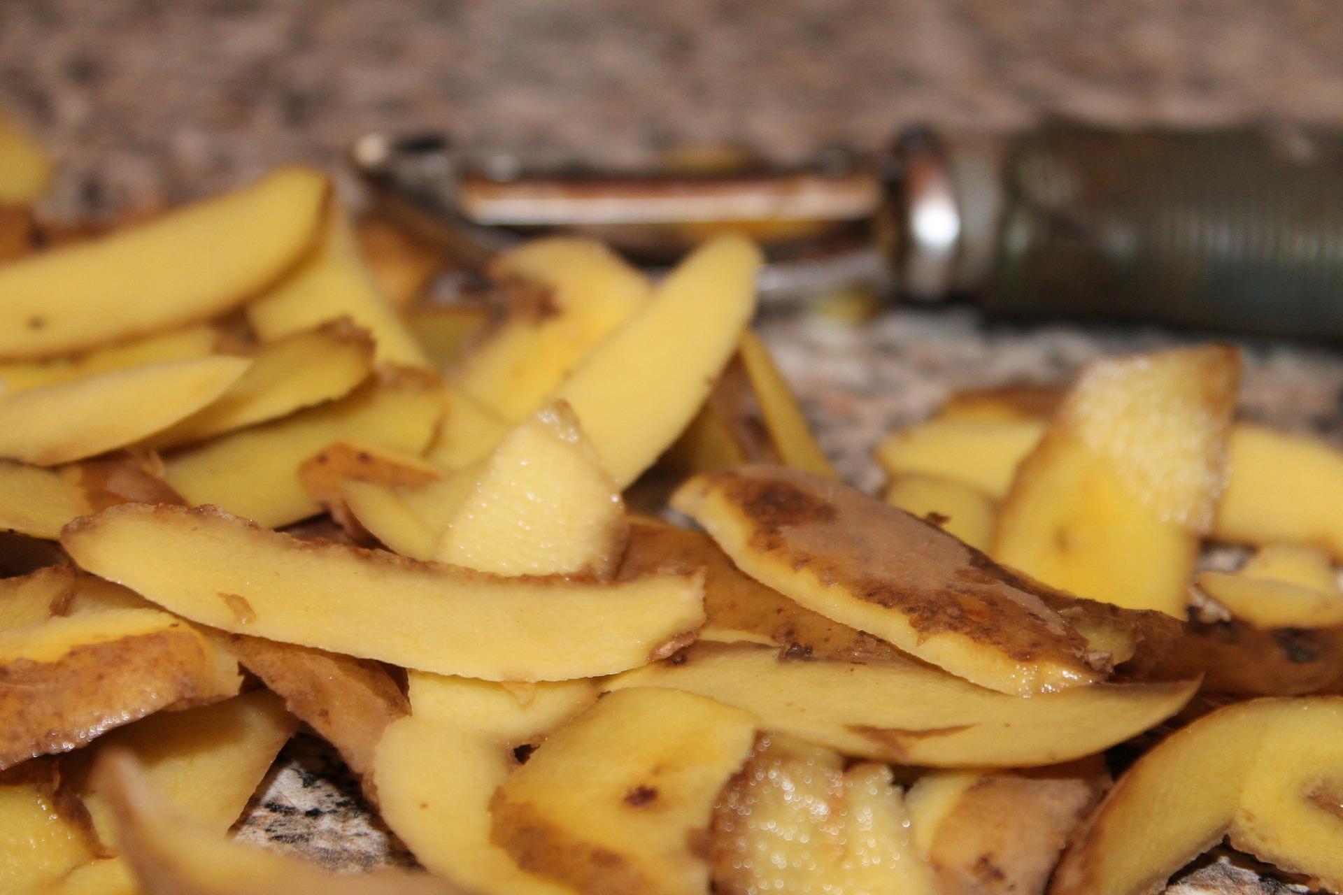 Kartoffelschale n- zu gut zum Wegschmeißen